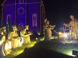 presépio da Igreja Matriz em Gramado. Lindo de ver